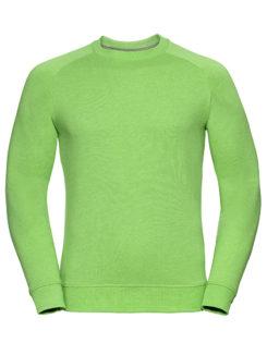 Men's HD Raglan Sweat Russell - green