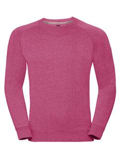 Men's HD Raglan Sweat Russell - pink