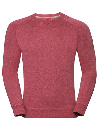 Men's HD Raglan Sweat Russell - red
