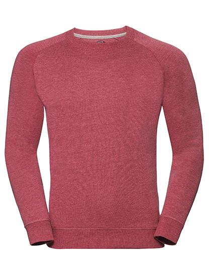 Men's HD Raglan Sweat Russell - red