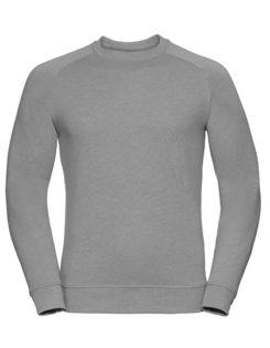 Men's HD Raglan Sweat Russell - silver