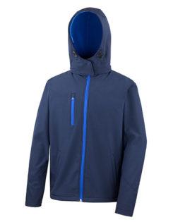 Men's TX Performance Hooded Soft Jacket Result - navy royal