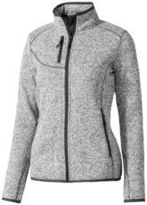 Tremblant Damen Strickfleecejacke Elevate - heather grey