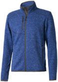 Tremblant Herren Strickfleecejacke Elevate - heather blue