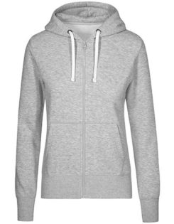 XO Hoody Jacket Women Promodoro - heather grey