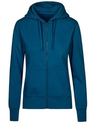 XO Hoody Jacket Women Promodoro - petrol