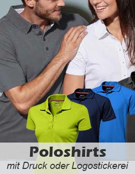 Poloshirts bedrucken oder besticken lassen