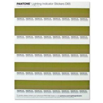 PANTONE D65 Lighting Indicator Stickers