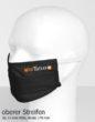 Mundnasenmaske - Druckmöglichkeit oberer Streifen