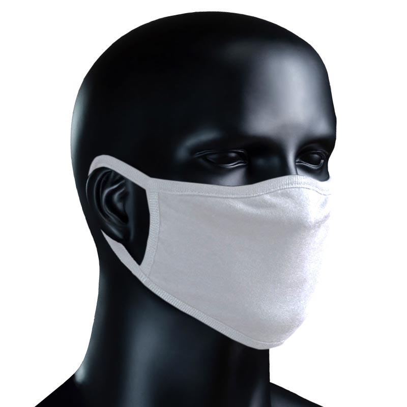 BIO Stoffmaske weiß - weiß