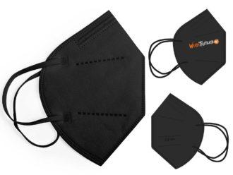 FFP2-Maske (Schwarz)