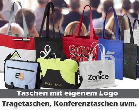 Taschen mit Logo bedrucken